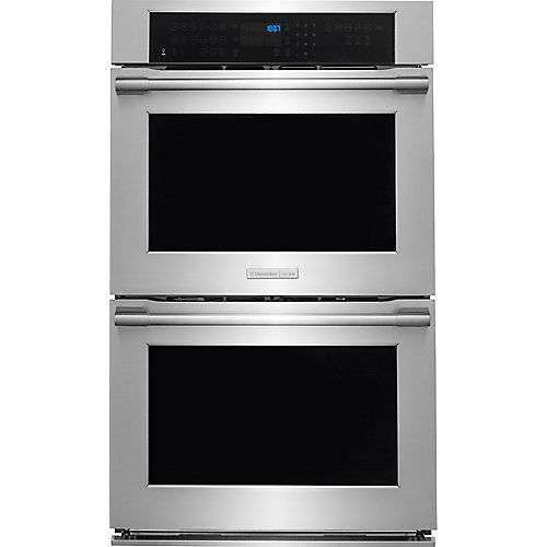 30-inch Double Electric Wall Oven with Convection in Stainless Steel