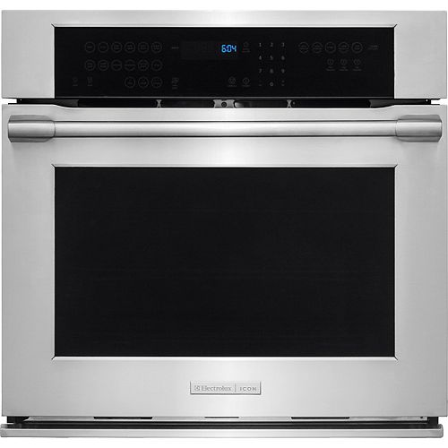 Electrolux 30-inch 4.8 cu. ft. Single Wall Oven in Stainless Steel