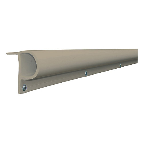 16 ft. Small P Profile Dock Bumper in Grey