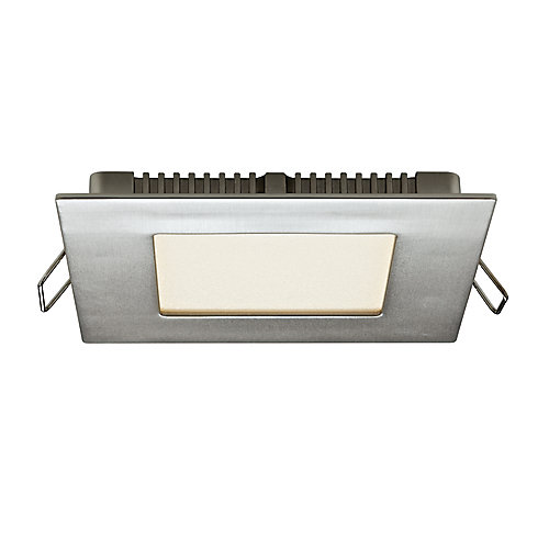 Ultraslim 4-inch Recessed Square LED Panel Light - ENERGY STAR®