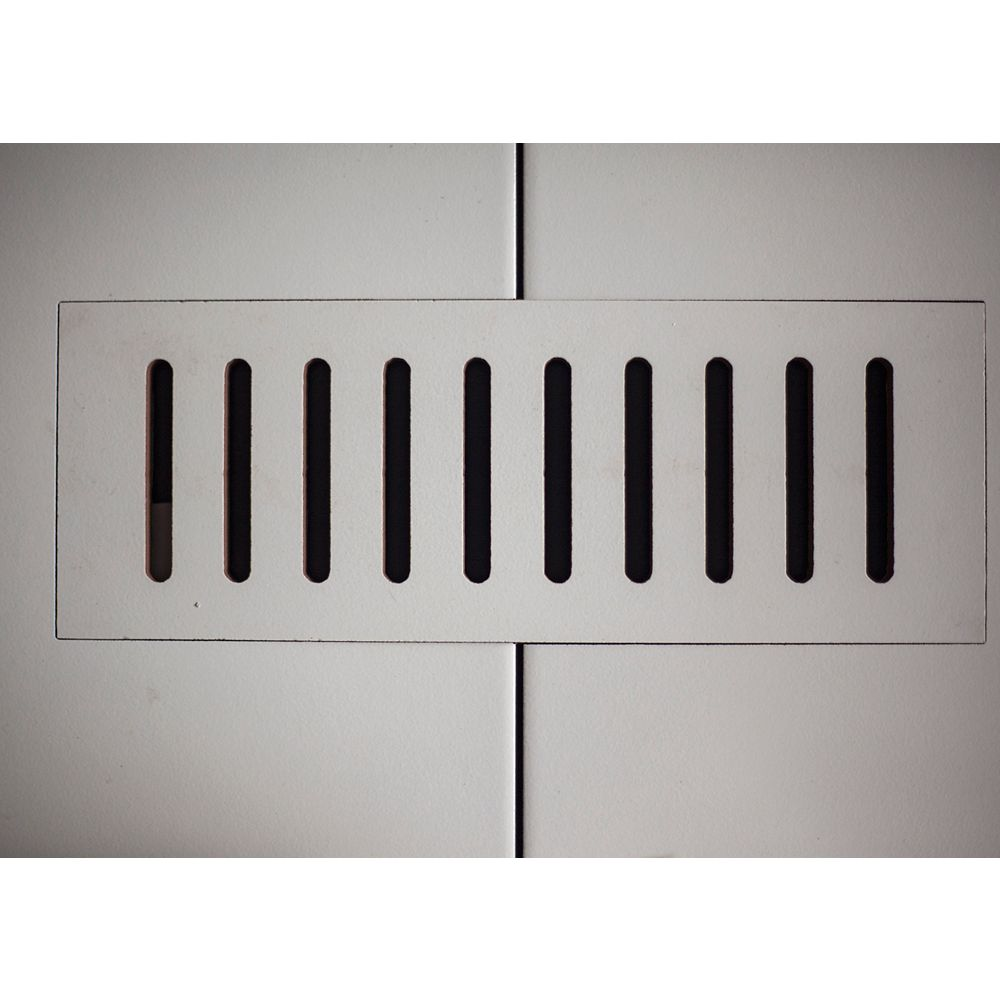 """Aod Stone Les couvercles céramiques de ventilation fait pour correspondre  Gris Pearl. Taille 5"""" x 11"""""""