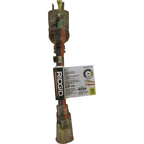 Adaptateur industrial pour chantier de 22,8 cm