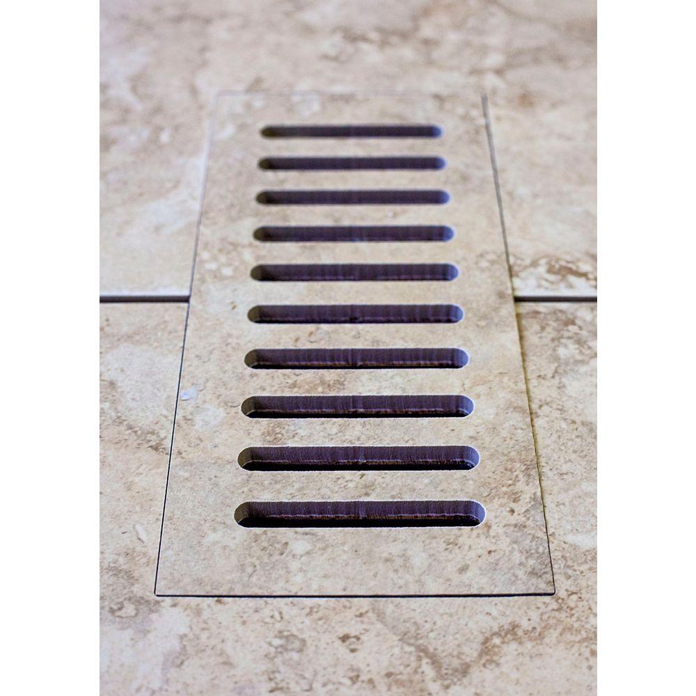 """Aod Stone Les couvercles porcelaines de ventilation fait pour correspondre Lancaster Sand. Taille  4"""" x 11"""""""
