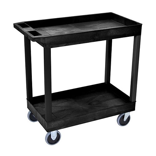 18 x 32 Tub Cart 2 shelves