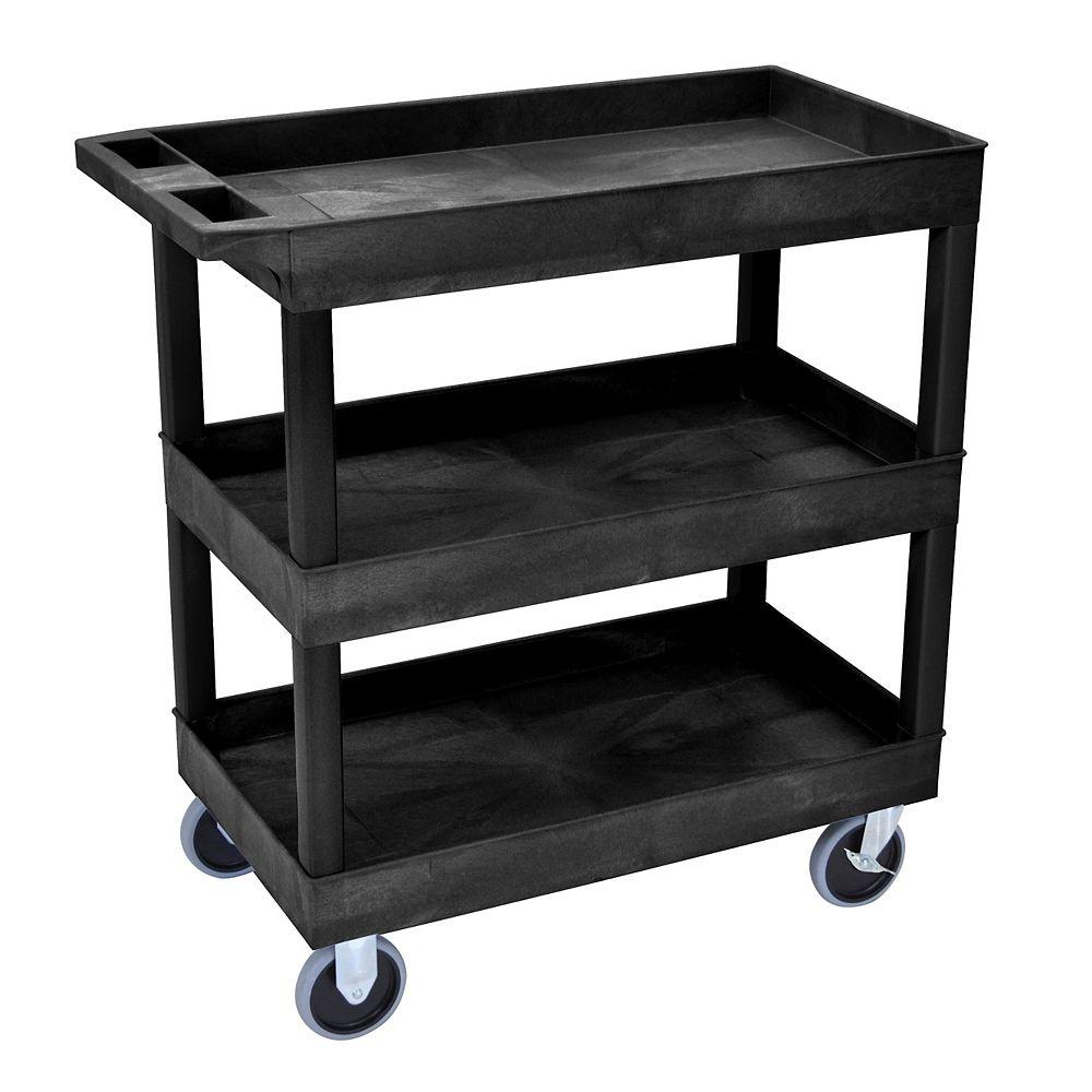Luxor 18 x 32 Tub Cart 3 shelves