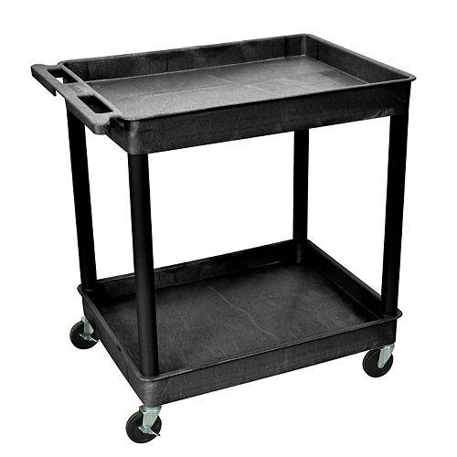Large Tub Cart 2 shelves