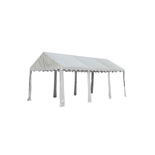 10 ft. x 20 ft. Party Tent in White