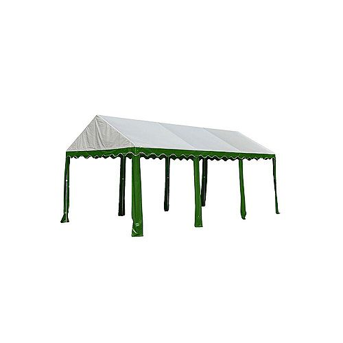 10 ft. x 20 ft. Party Tent in Green/White