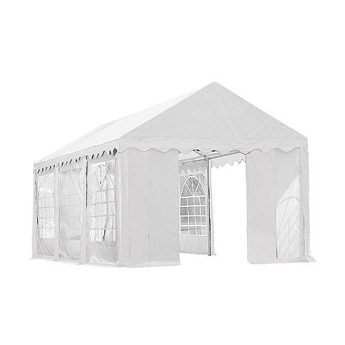 10 ft. x 20 ft. Party Tent & Enclosure Kit in White