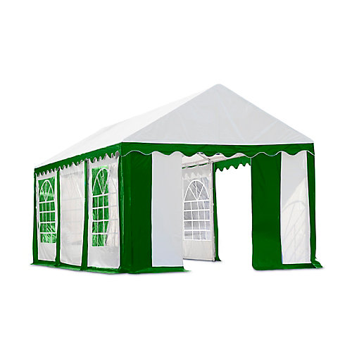 10 ft. x 20 ft. Canopy Enclosure Kit in Green and White