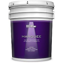 Interior Eggshell Enamel Paint & Primer - Ultra Pure White, 18.9L