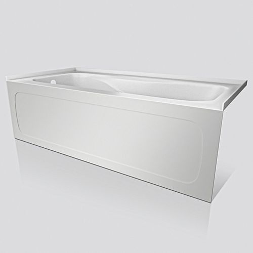 Sol 60x32 Skirted Tub With Left Hand Drain