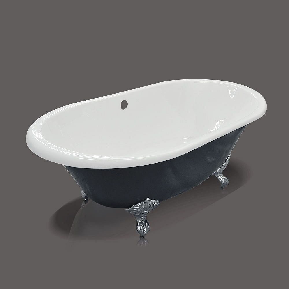 Valley Cast Iron Tub With Metal Feet