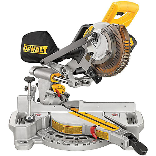 20V MAX 7.25-inch Cordless Sliding Compound Miter Saw Kit with Battery and Charger