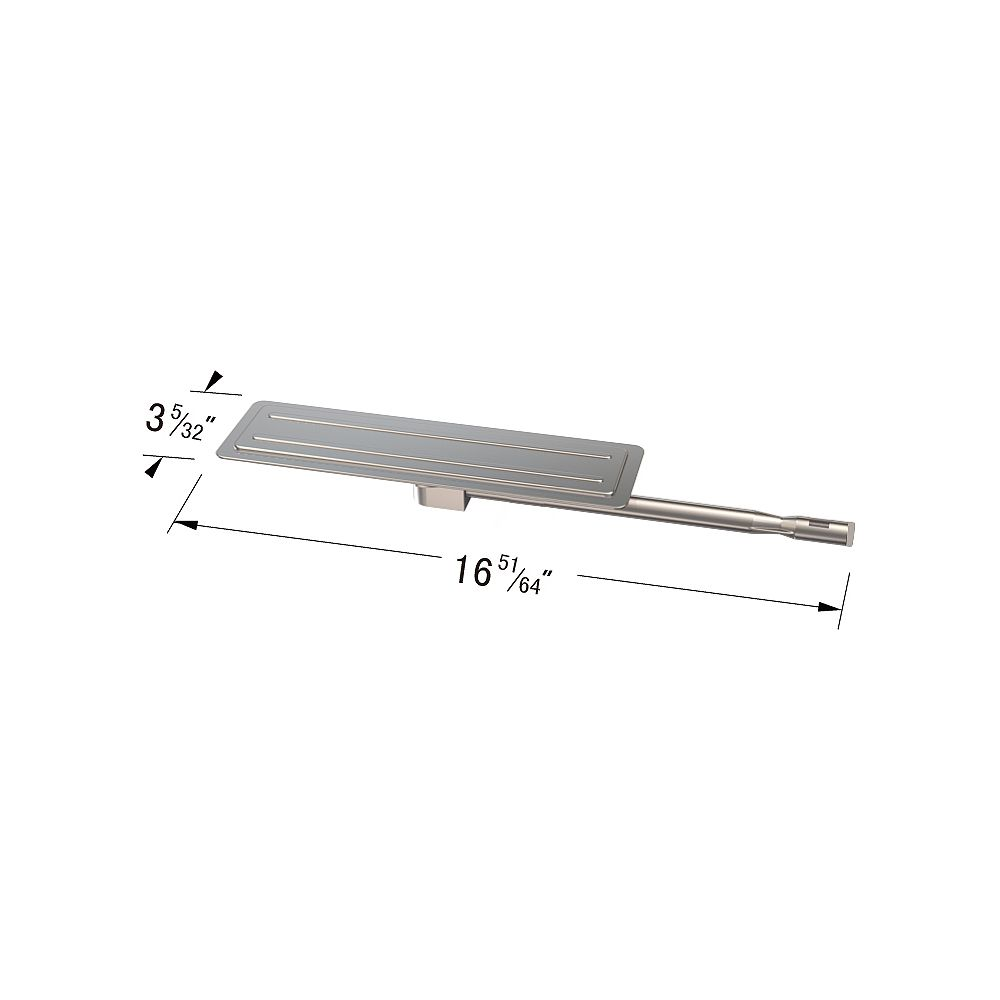 BBQTEK Stainless Steel Grill Burner for BBQ grill ware GAT1913 , GAT1913A, GST1811A and Perfect Flame GAT1913-1 Gas Grill Models