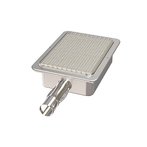 Brûleur principal infrarouge en acier inoxydable pour les modèles de grilles à gaz et à engrenages Tera
