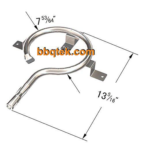 Brûleur principal en acier inoxydable pour les modèles de remplacement de gril à gaz et de gril à liant