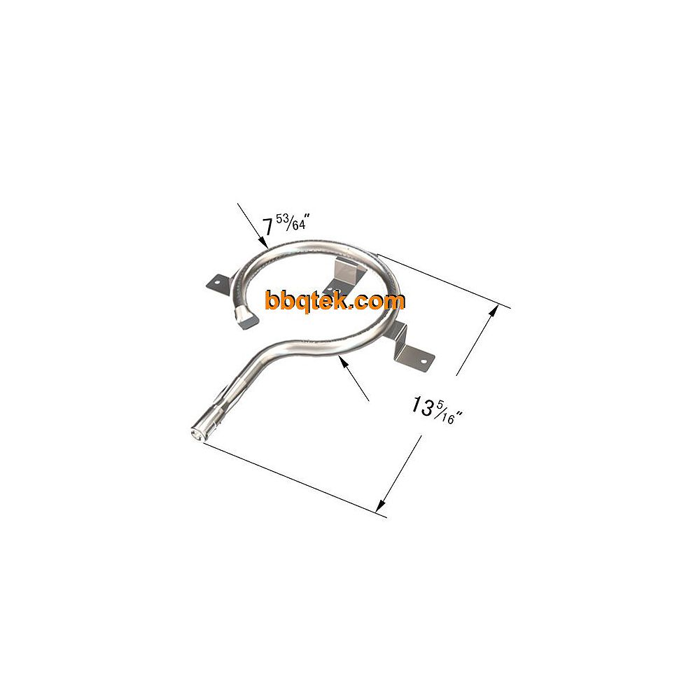 BBQTEK Stainless Steel Main Burner for  and Bond Gas Grill Replacement Models