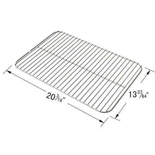Porcelain Steel Wire Cooking Grid for Bond, Life @ Home, Tera Gear and Everyday Essentials; GPC2700J -Gas Grill Models
