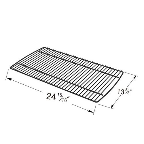 Cast Iron Cooking Grid for BBQ Grill ware and El Patio for Gas Grill Models