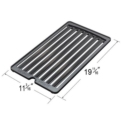 Cast Iron Cooking Grid (Right) for President's Choice Gas Grill Models