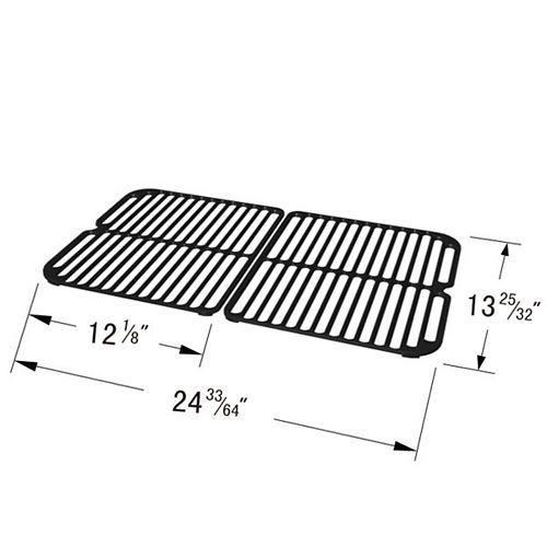 Cast Iron Cooking Grid for  Gas Grill Models