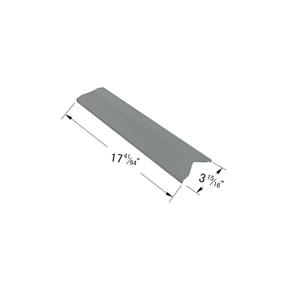 BBQTEK Stainless Steel Heat Plate for Broil Chef, Bond, Tera Gear and President's Choice for Gas Grill Models