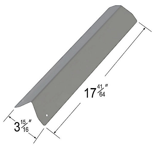 Stainless Steel Heat Plate for Tera Gear Gas Grill Models
