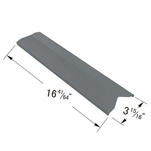 Plaque chauffante en acier inoxydable pour modèles de gril à gaz