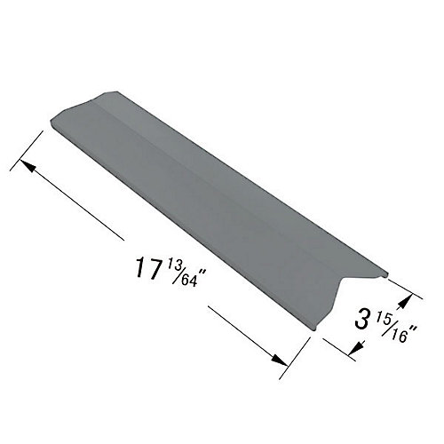 Stainless Steel Heat Plate for , Perfect Flame and President's Choice Gas Grill Models