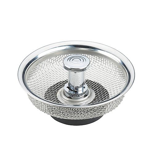 Durable Mesh Strainer with Stopper