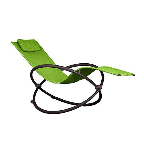 Orbital Lounger - Single (Green Apple)
