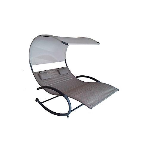 Double Chaise Rocker (Sienna)