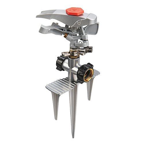 Metal Pro Series Impulse Sprinkler on Spike