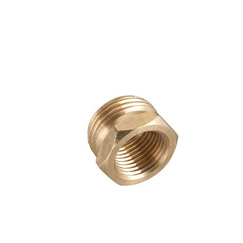 1/2-inch Brass Male/Female Connector
