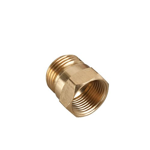 3/4-inch Brass Male/Female Connector
