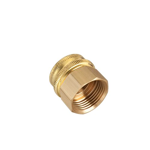 3/4-inch Brass Double Female Connector