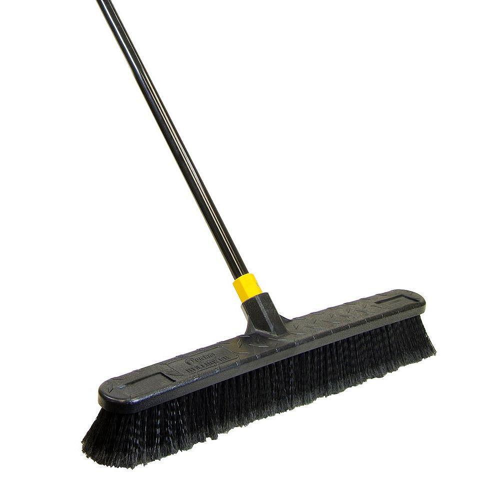 Bulldozer 24-inch Smooth Surface Push Broom