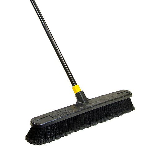 Bulldozer 24-inch Smooth Surface Push Broom
