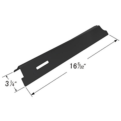 Porcelain Steel Heat Plate Bracket for BBQ Grill ware, Life @ Home Gas Grill Models