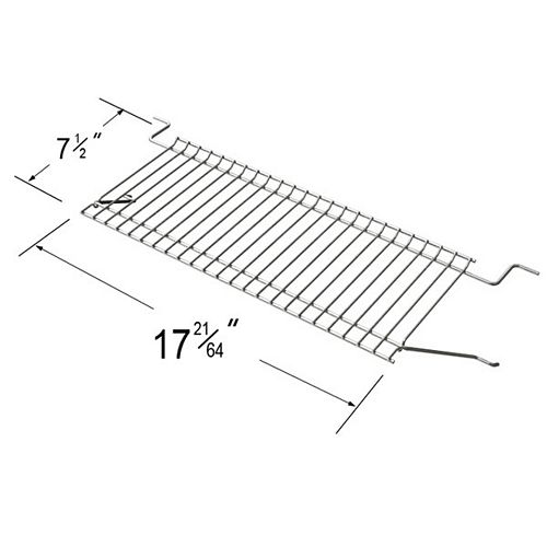 Stainless Steel Warming Grid Lid for Bond and Life@Home Gas Grill Models