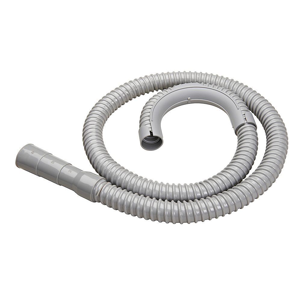 Moen Washing Machine Discharge Hose 5 Plastic Corrugated The Home Depot Canada