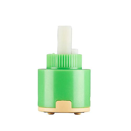 35 mm Single Handle Ceramic Cartridge without Distributor (Belanger, Glacier Bay and Pfister)