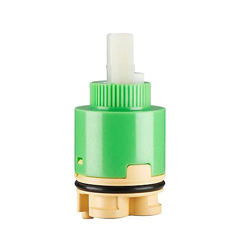 35 mm Single Handle Ceramic Cartridge with Distributor (Belanger, Glacier Bay and Pfister)