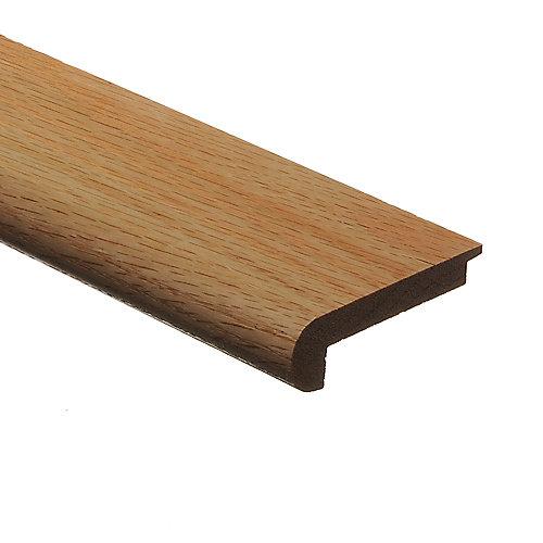 """Red Oak Natural 94"""" Stair Nose 5/16"""" FL"""