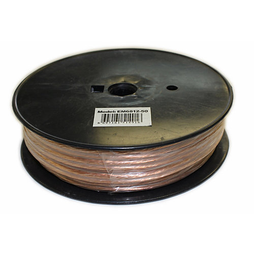 50 ft. 2-Wire 12 Gauge Speaker Cable