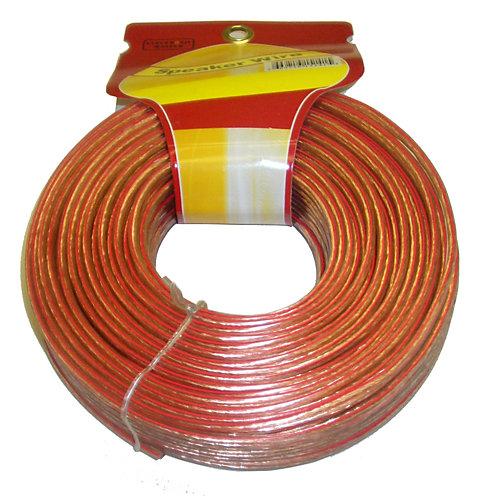 100 Feet 2 fils Speaker Cable avec 16 Gauge