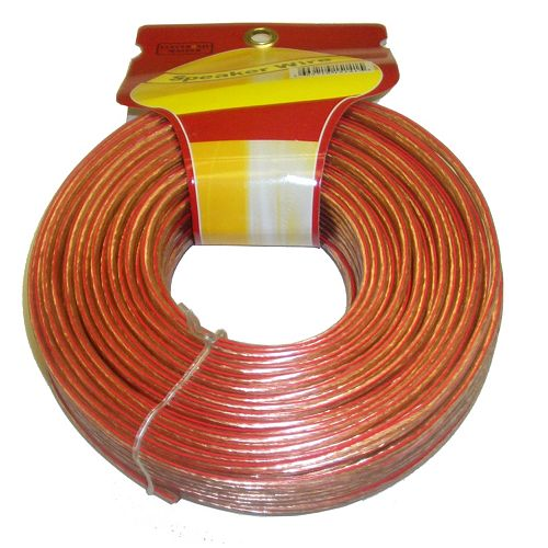 100 ft. 2-Wire 16 Gauge Speaker Cable