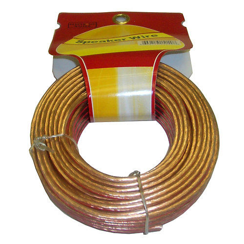 50 Feet 2 fils Speaker Cable avec 16 Gauge
