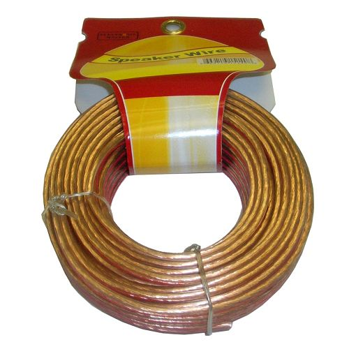 50 ft. 2-Wire 16 Gauge Speaker Cable